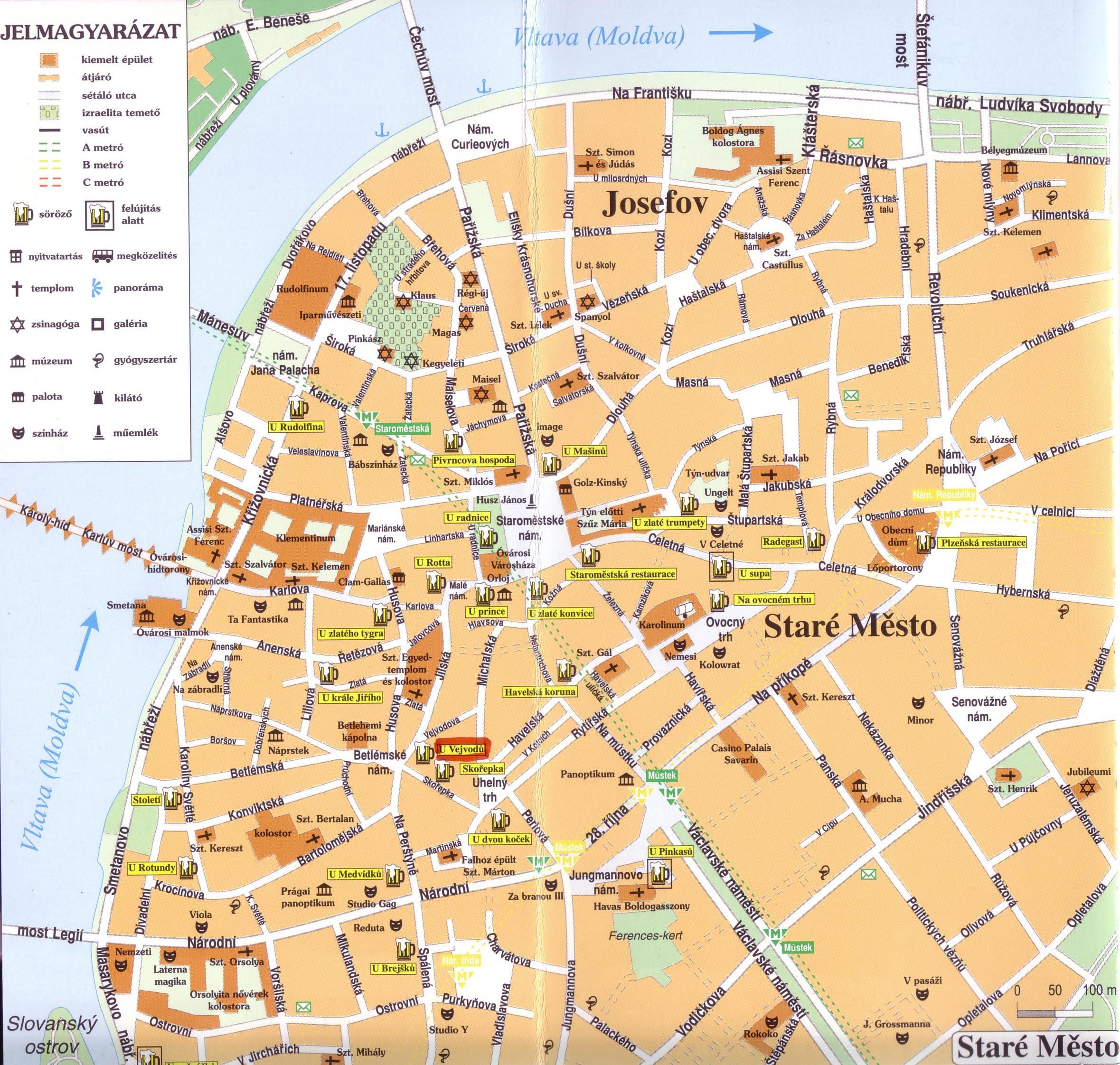 prága térkép Prágai sörtérkép | Prunk Éger Edgár prága térkép